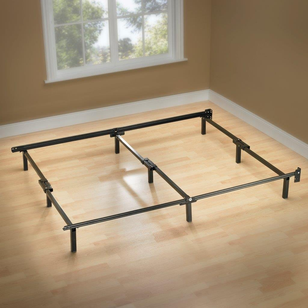 Zinus 9-Leg Support Bed Frame