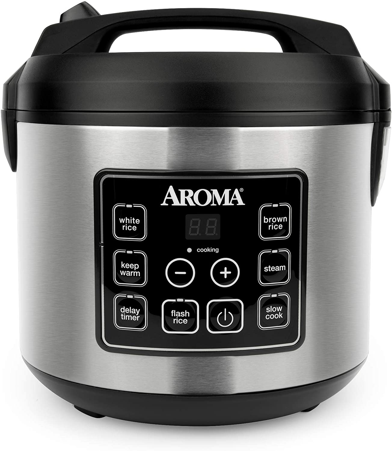 Aroma Housewares Digital Rice Cooker, 20-Cup