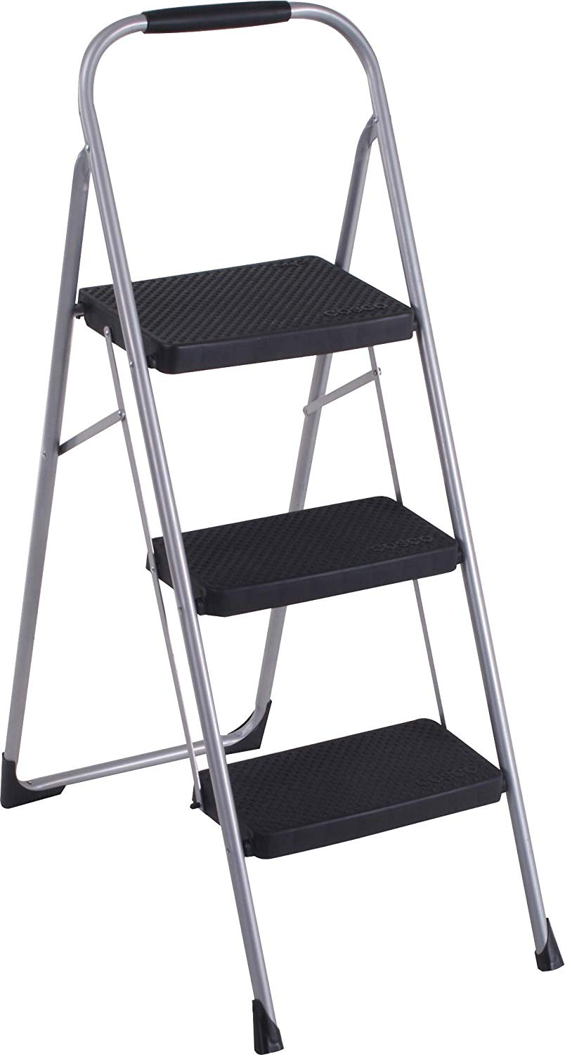 Cosco Folding Step Ladder, 3-Step