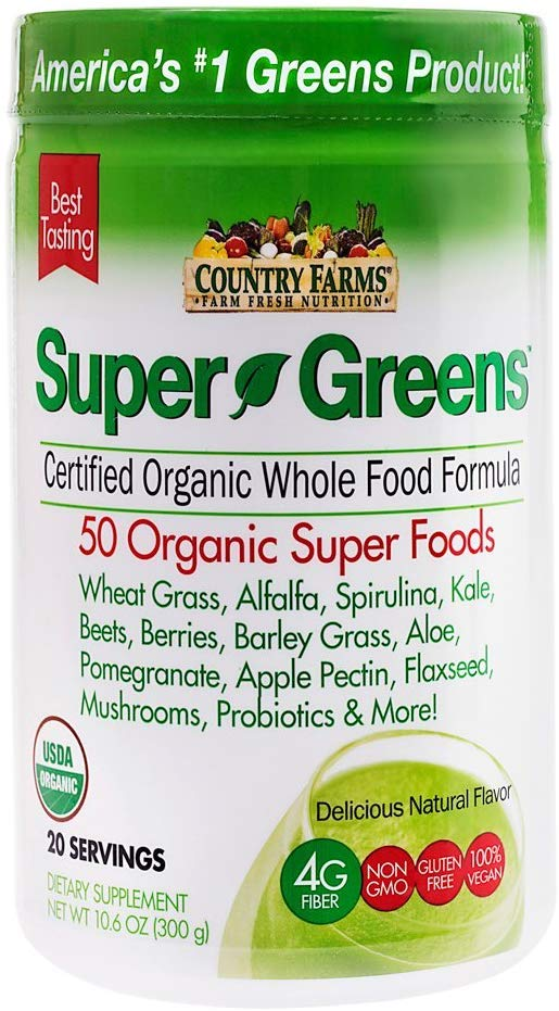 Country Farms Organic Super Greens Drink Mix