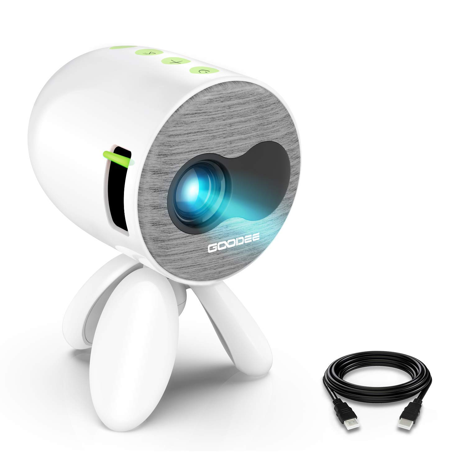 GooDee Portable Video Projector