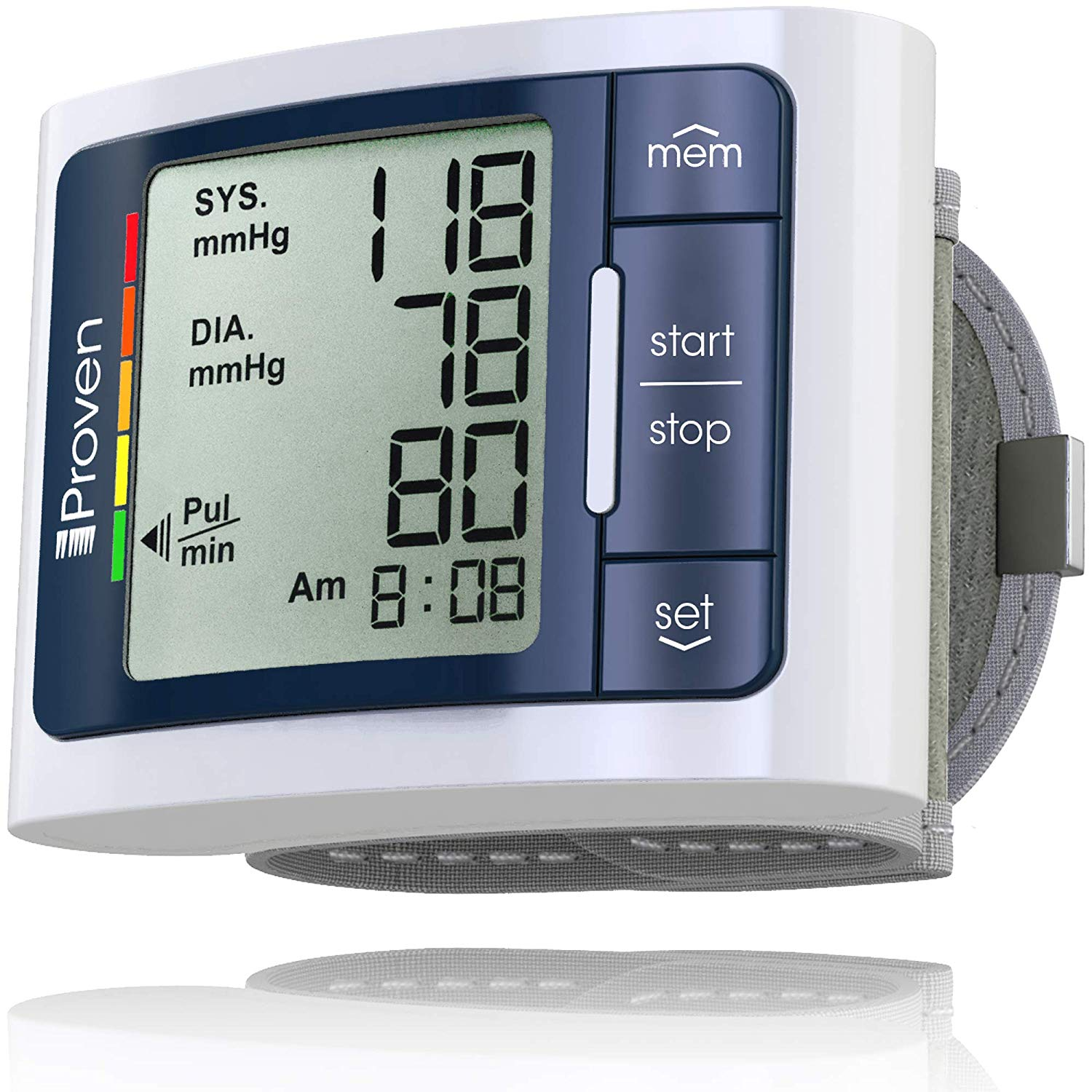 iProven Clinically Accurate & Fast Reading Wrist Blood Pressure Monitor
