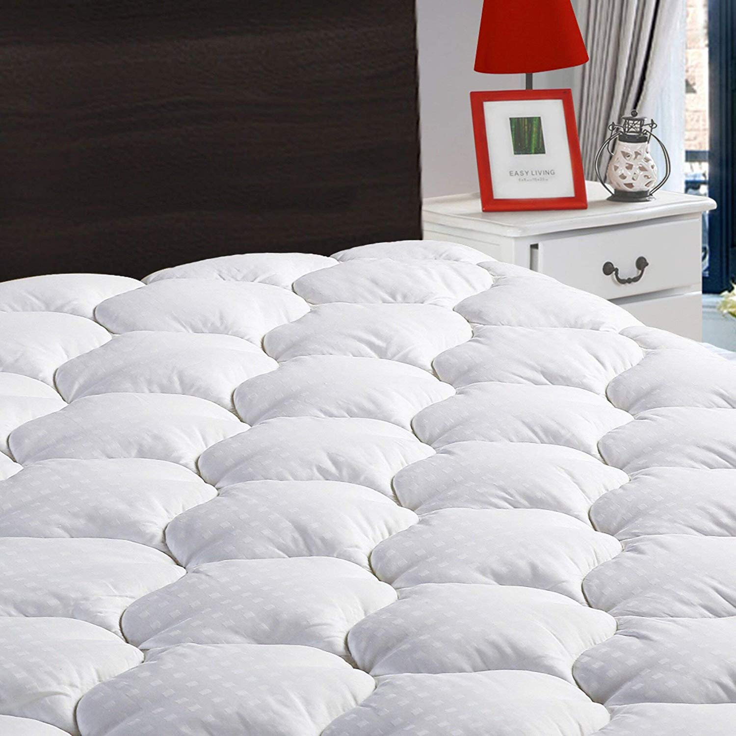 LEISURE TOWN Mattress Pad Cover