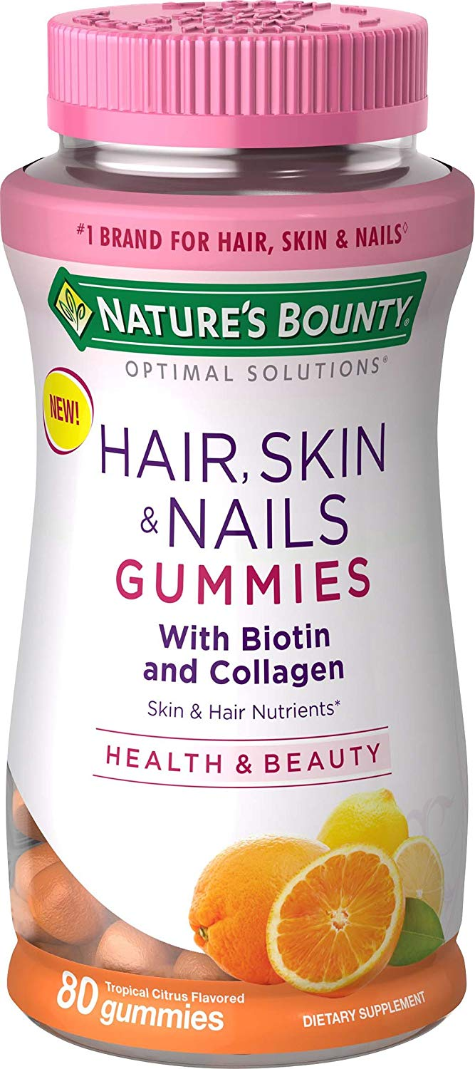 Nature's Bounty Biotin Gummies, 2,500mcg