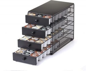 Nifty 4-Tier K-Cup Storage Drawer, 72-Count