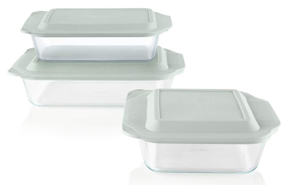 Pyrex Deep Baking Dish Set, 6-piece