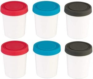 StarPack Portion Control Mini Ice Cream Container, 6-Pack