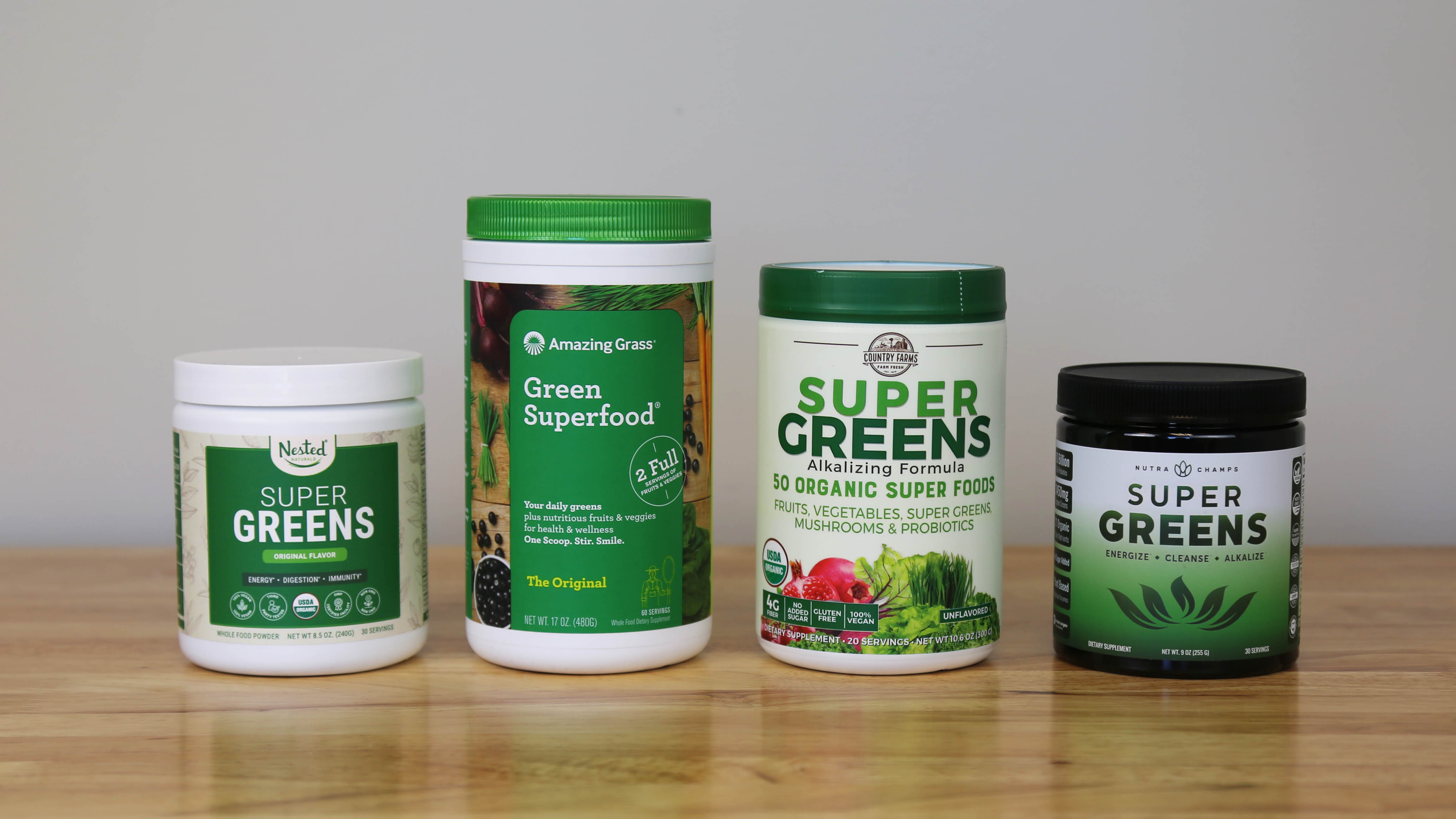 The Best Super Greens | February 2021