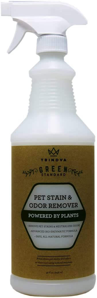 TriNova All-Surface Natural Pet Stain & Odor Remover Carpet Cleaner