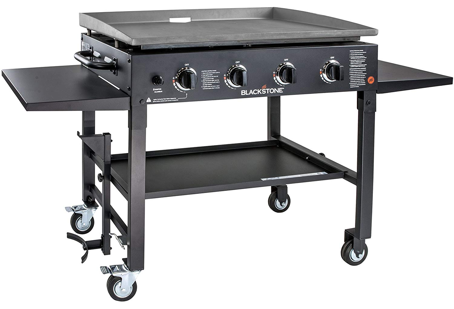 Blackstone 1554 Station Flat Top Gas Grill Griddle, 36-Inch