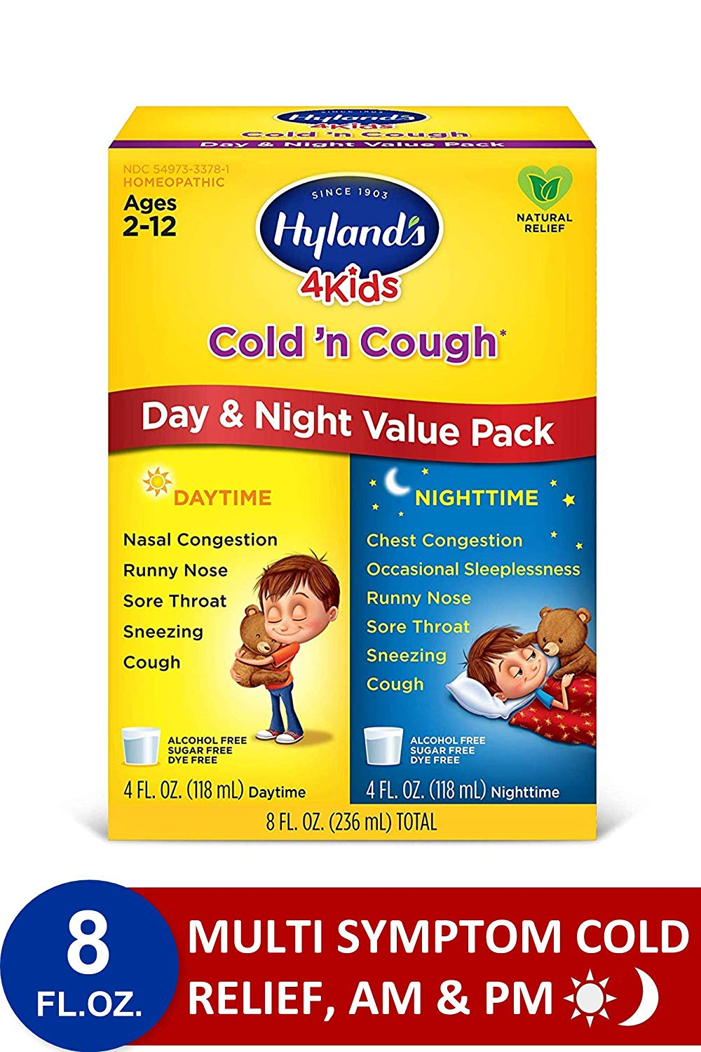 Hyland's Kids Day and Night Cough Syrup