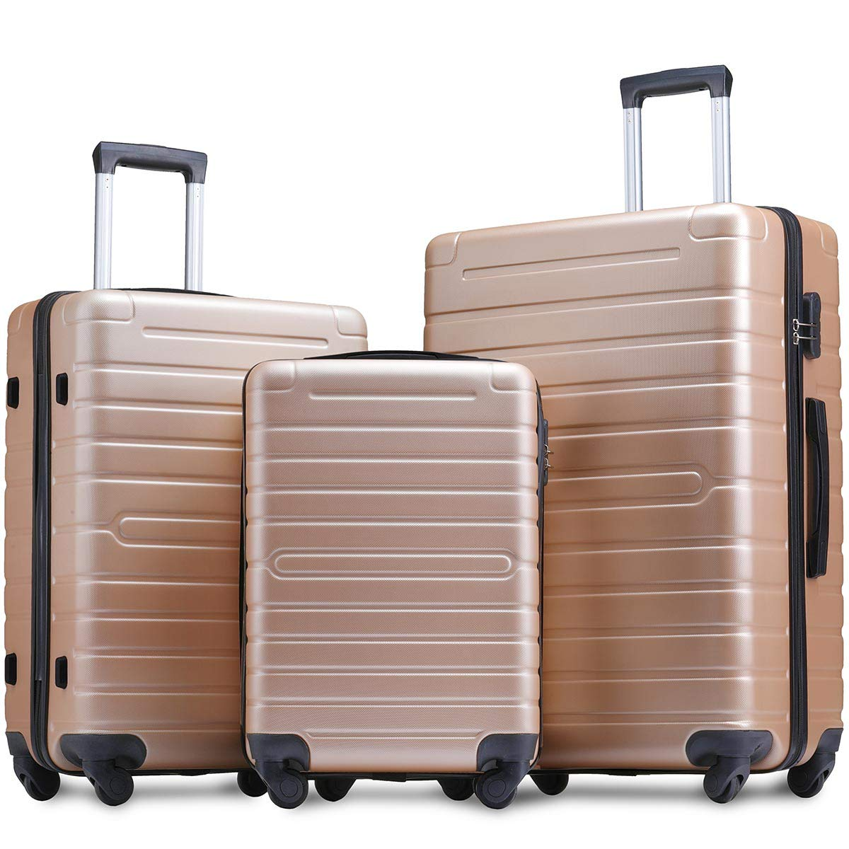 Merax Spinner Luggage Set, 3-Piece
