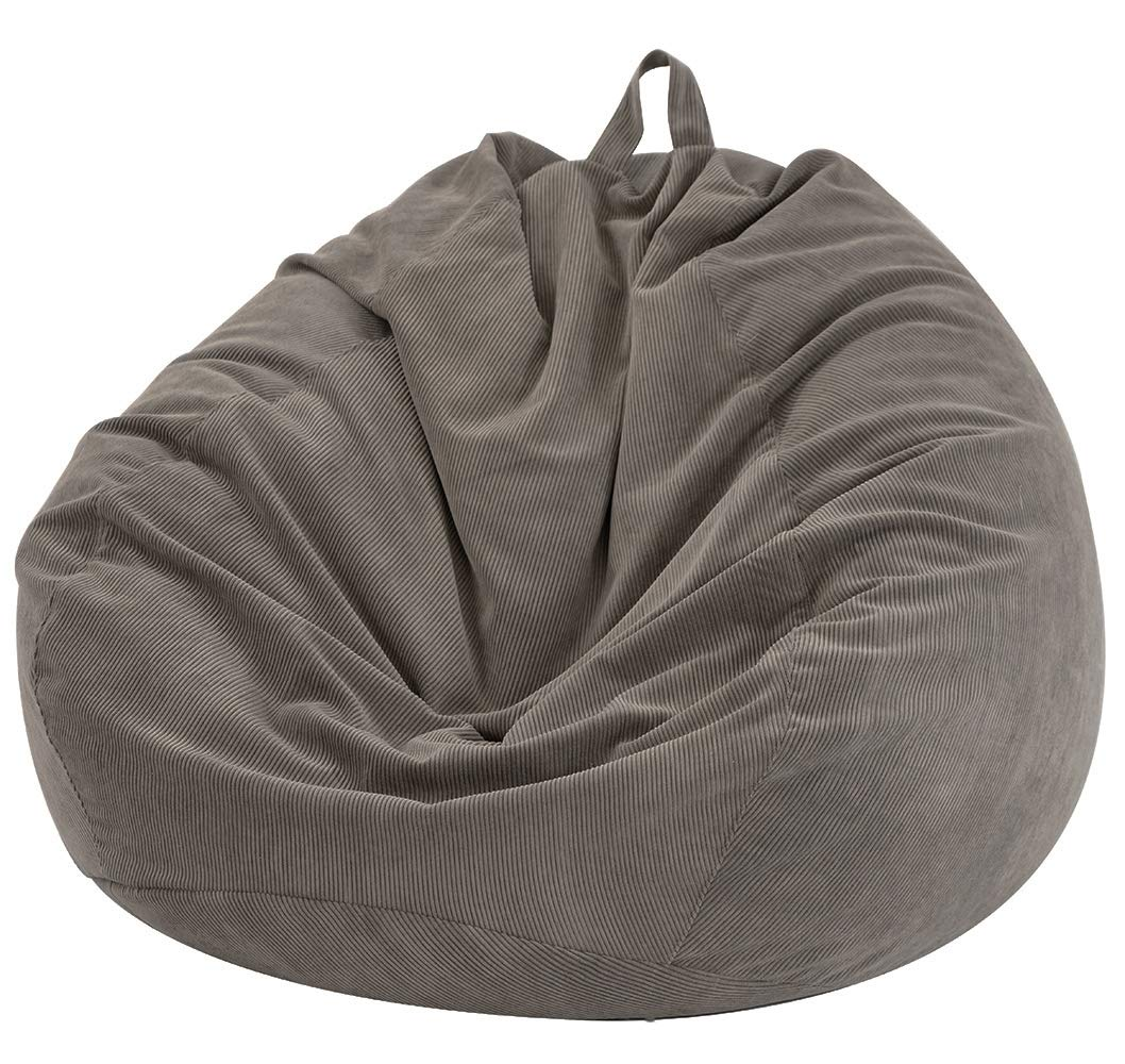 Nobildonna Stuffed Storage Bean Bag Chair