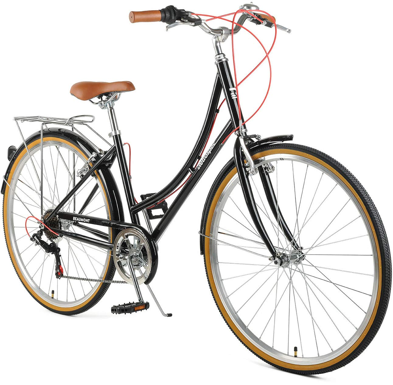 Retrospec Beaumont Lady's Urban City Commuter Bike, 7-Speed