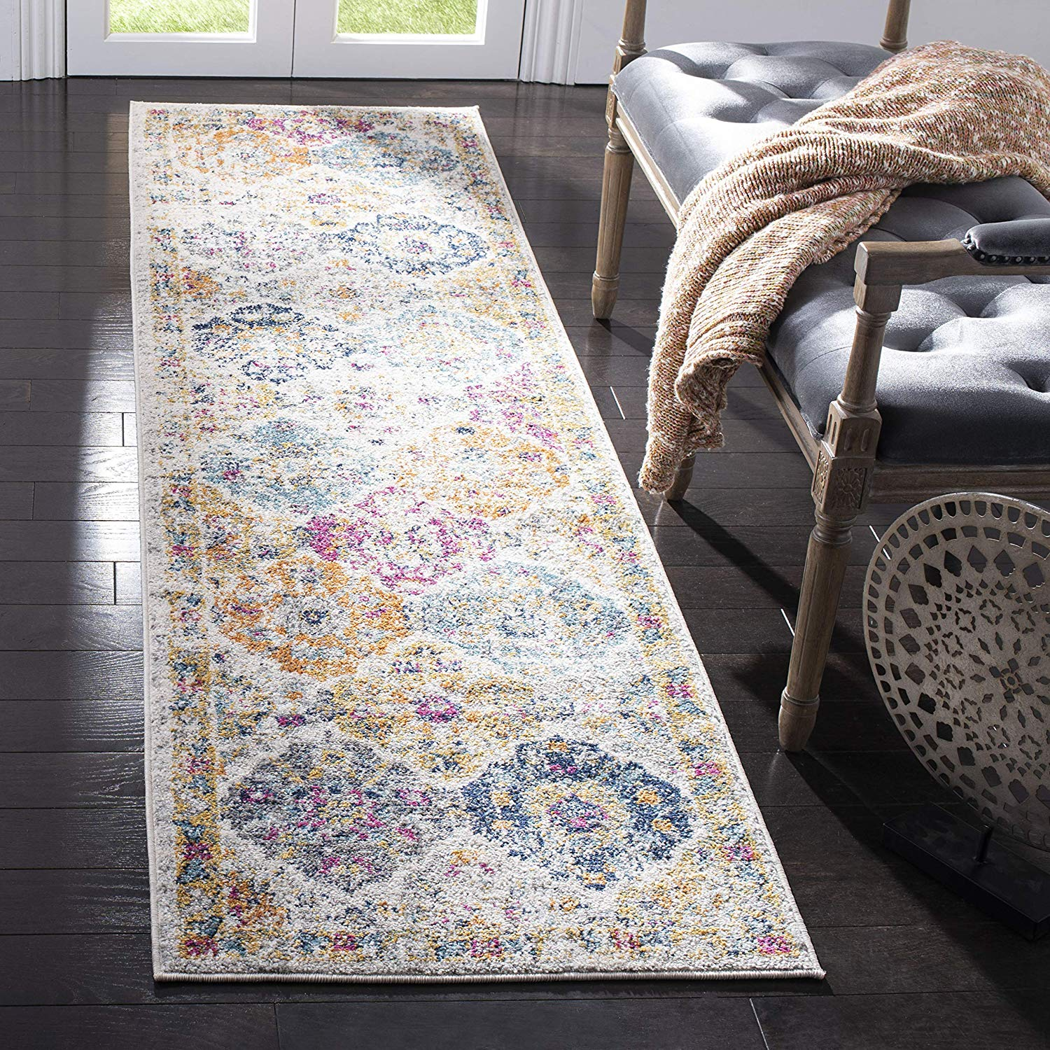 Safavieh Madison Collection Boho Chic Carpet Runner