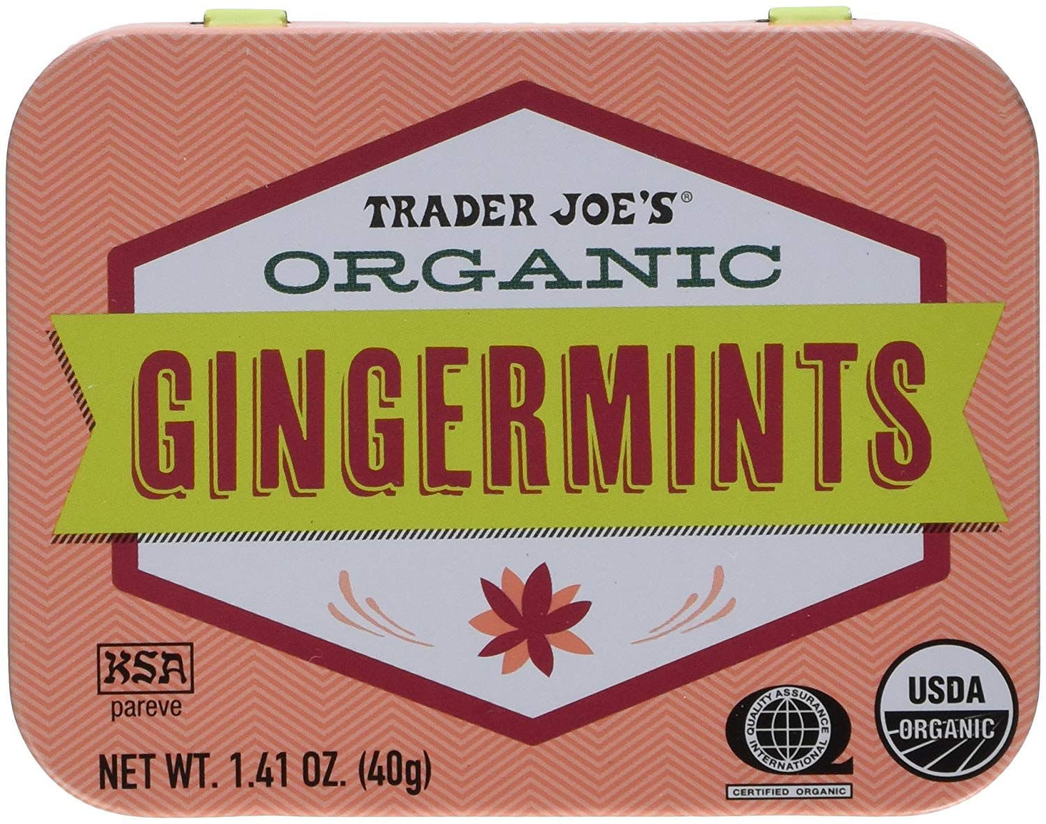 Trader Joe's Organic Gingermints, 2-Pack