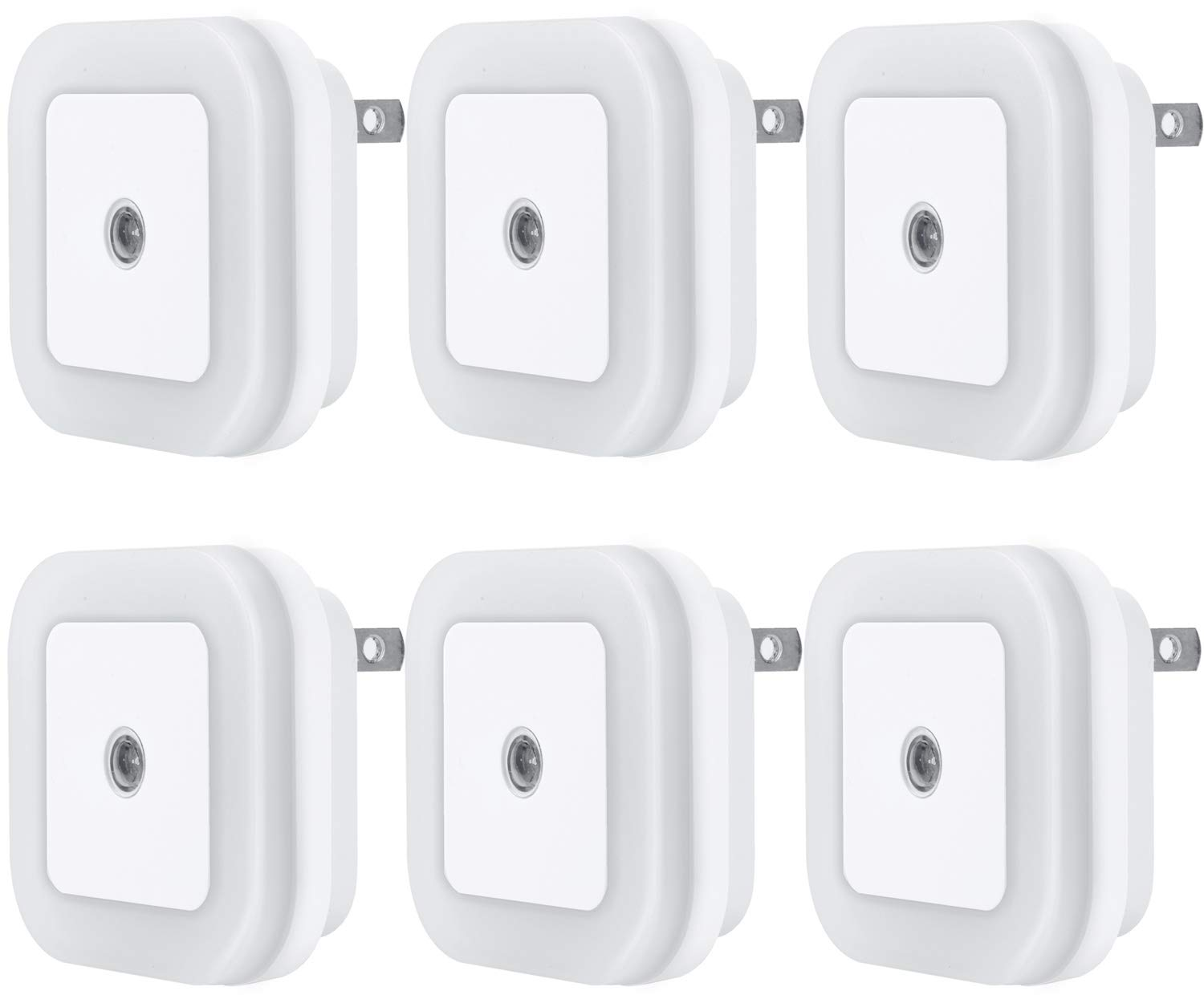 Uigos LED Night Light, 6-Pack