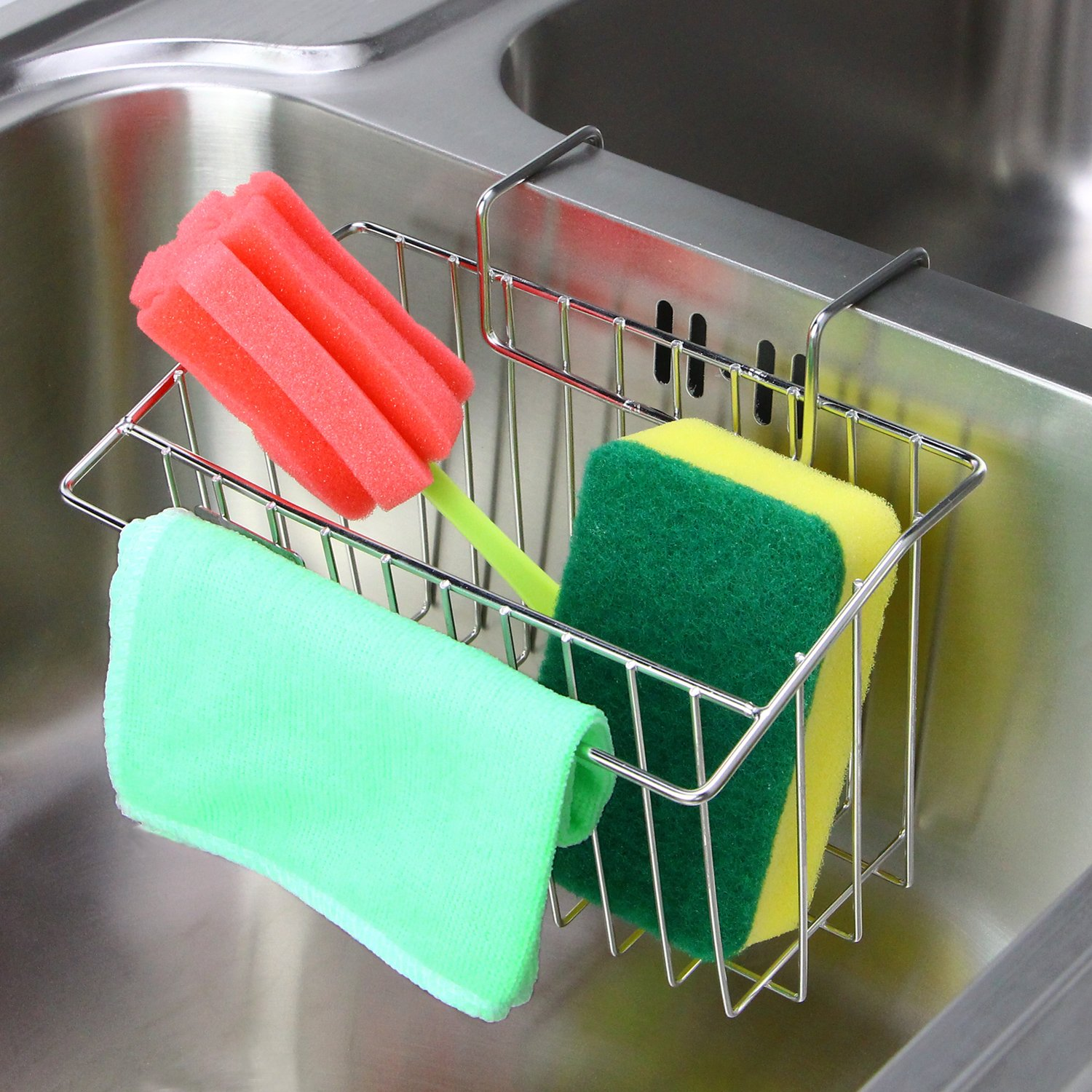 Aiduy Sink Caddy Kitchen Drainer Rack