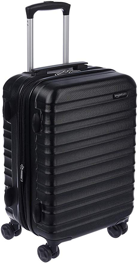AmazonBasics Hardside Spinner Luggage, 21-Inch