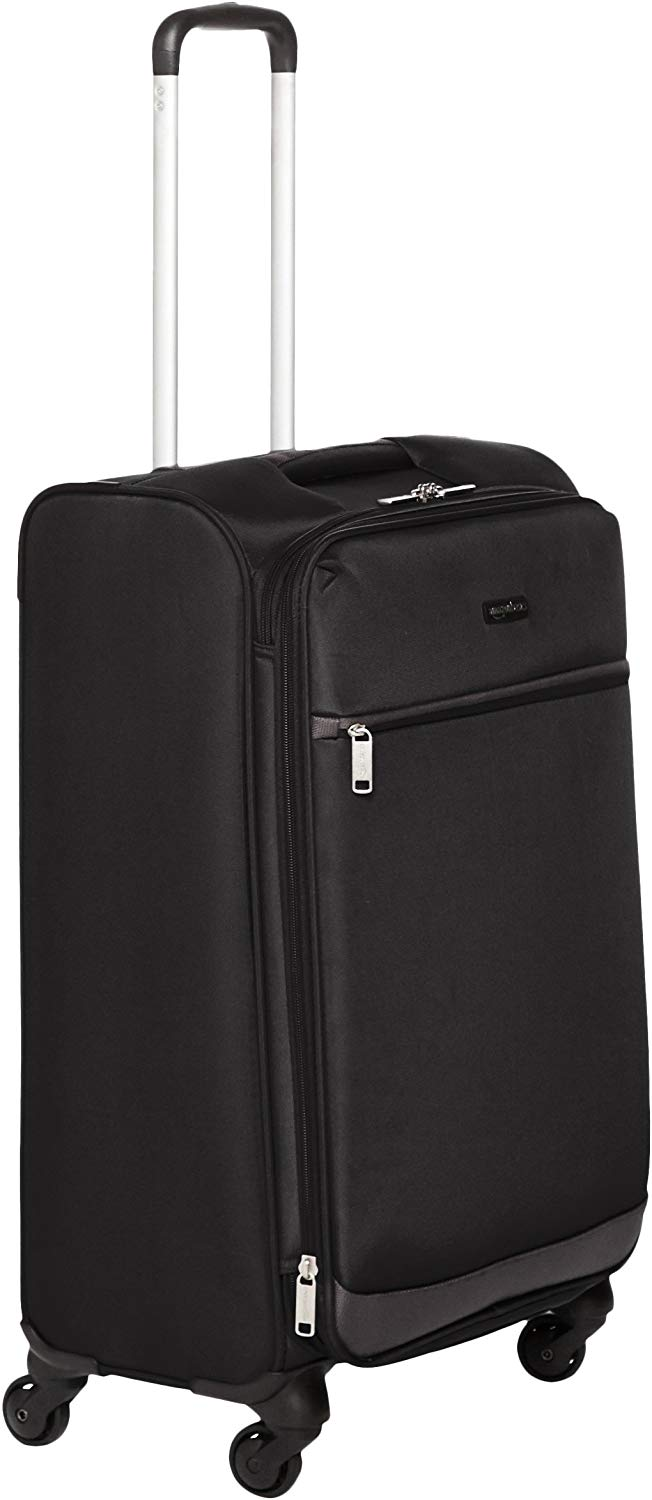 AmazonBasics Softside Spinner Luggage, 30.9-Inch
