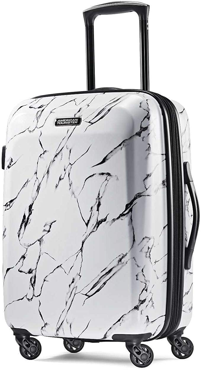 American Tourister Moonlight Hardside Spinner Luggage, 21-Inch