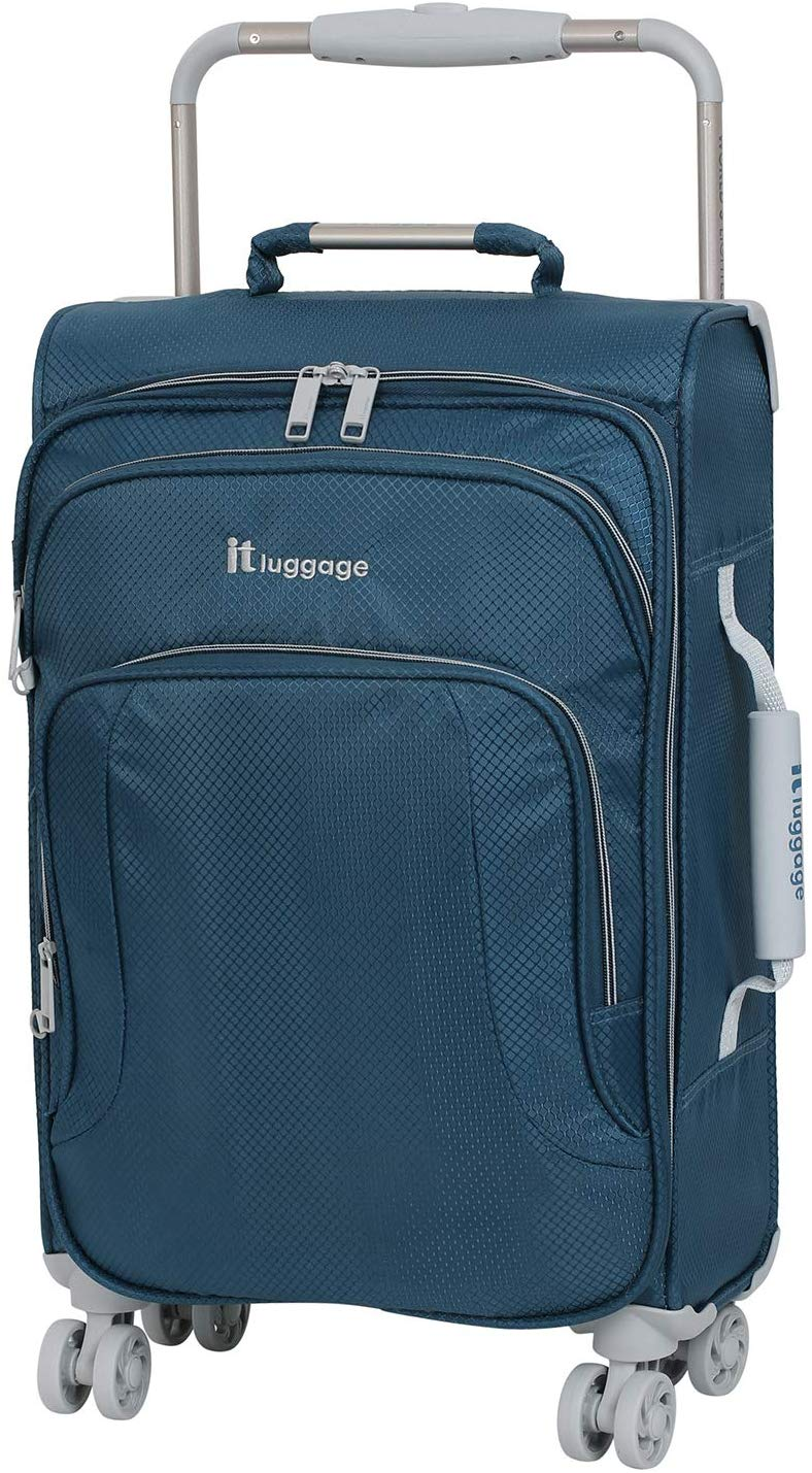 IT Luggage Lightweight Soft Shell Spinner Luggage, 22-Inch