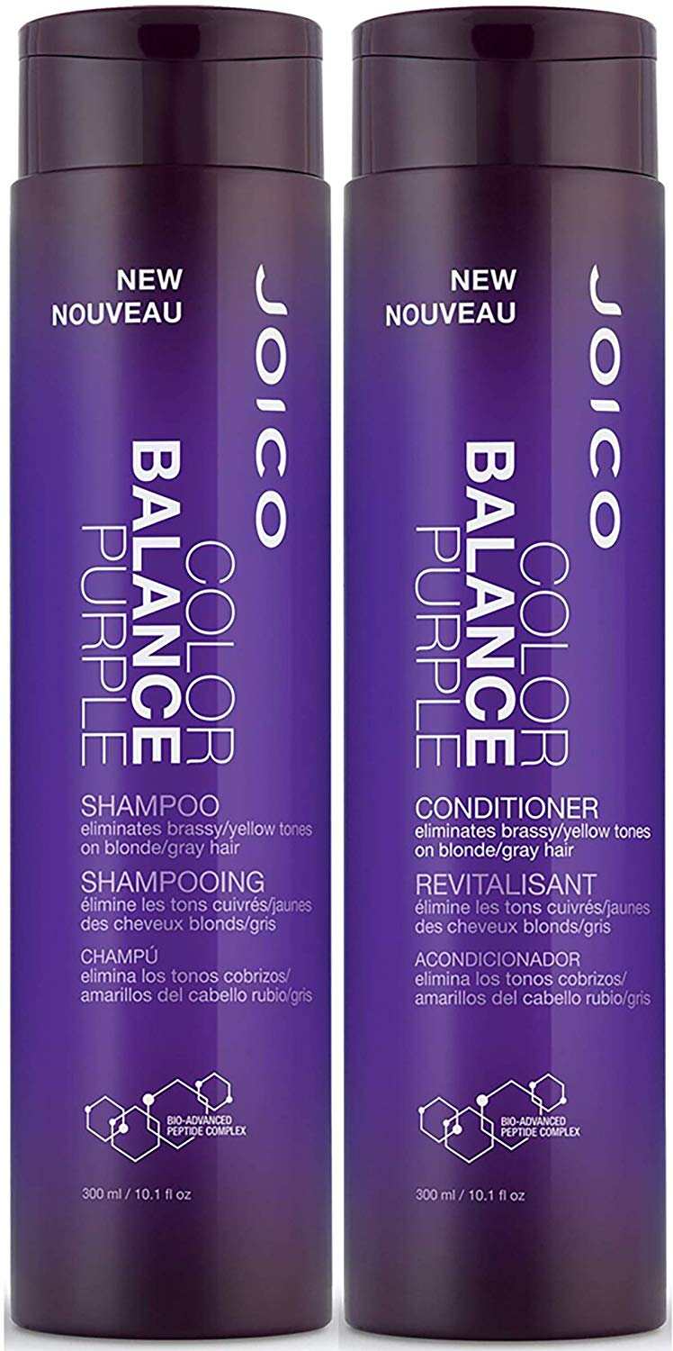 Joico Purple Shampoo & Conditioner Set, 10.1-Ounce