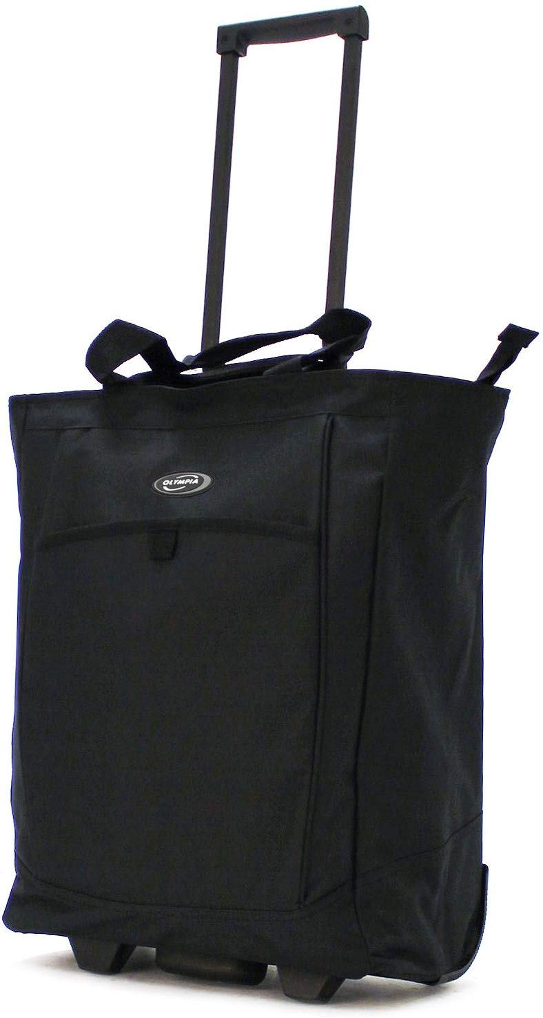 Olympia Rolling Shopper Tote Luggage, 20-Inch