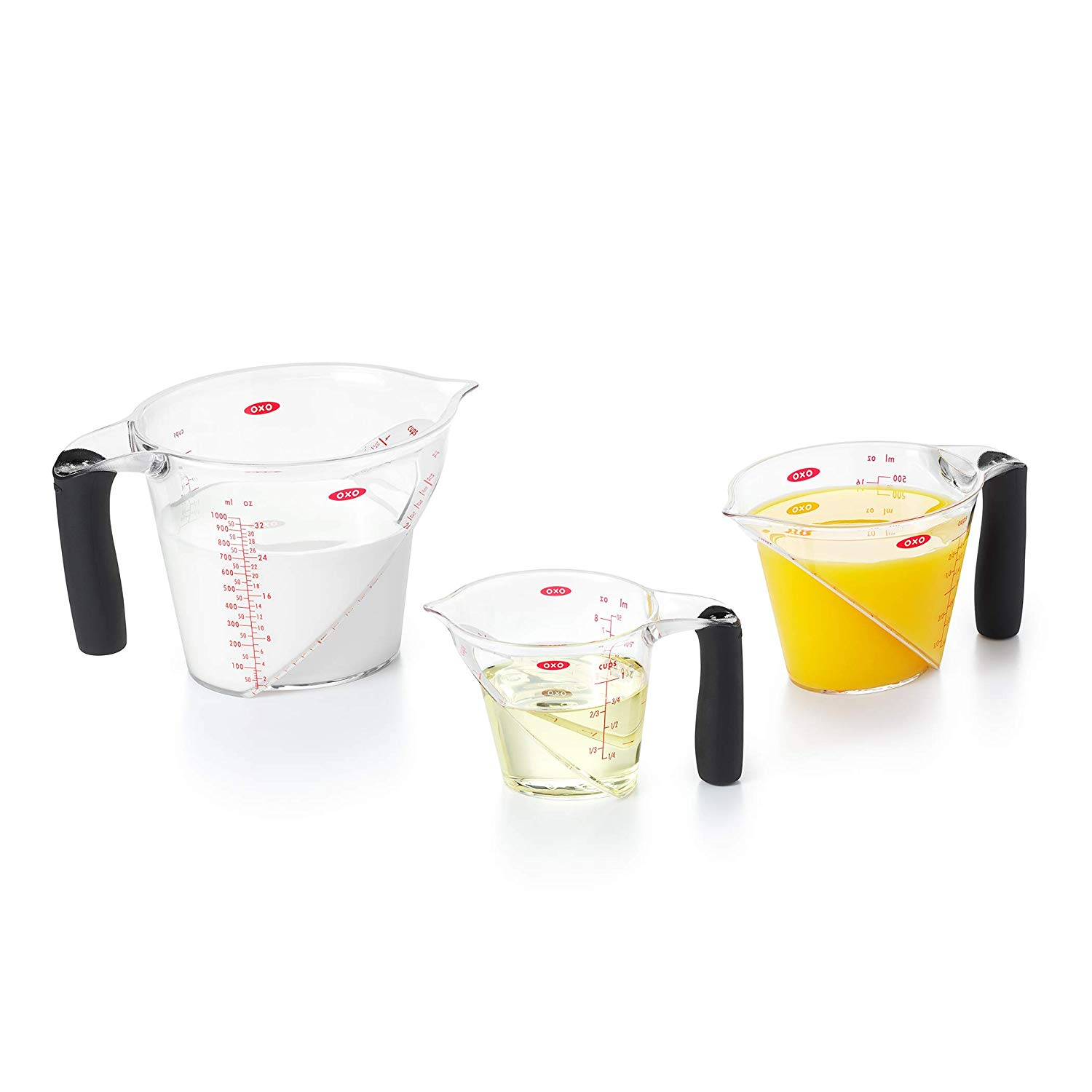 OXO Good Grips Angled Measuring Cup Set, 3-Piece