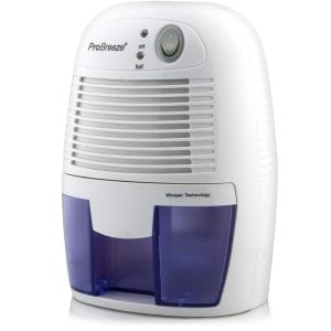 Pro Breeze Mini Dehumidifier with Auto Shut Off, 16-Ounce