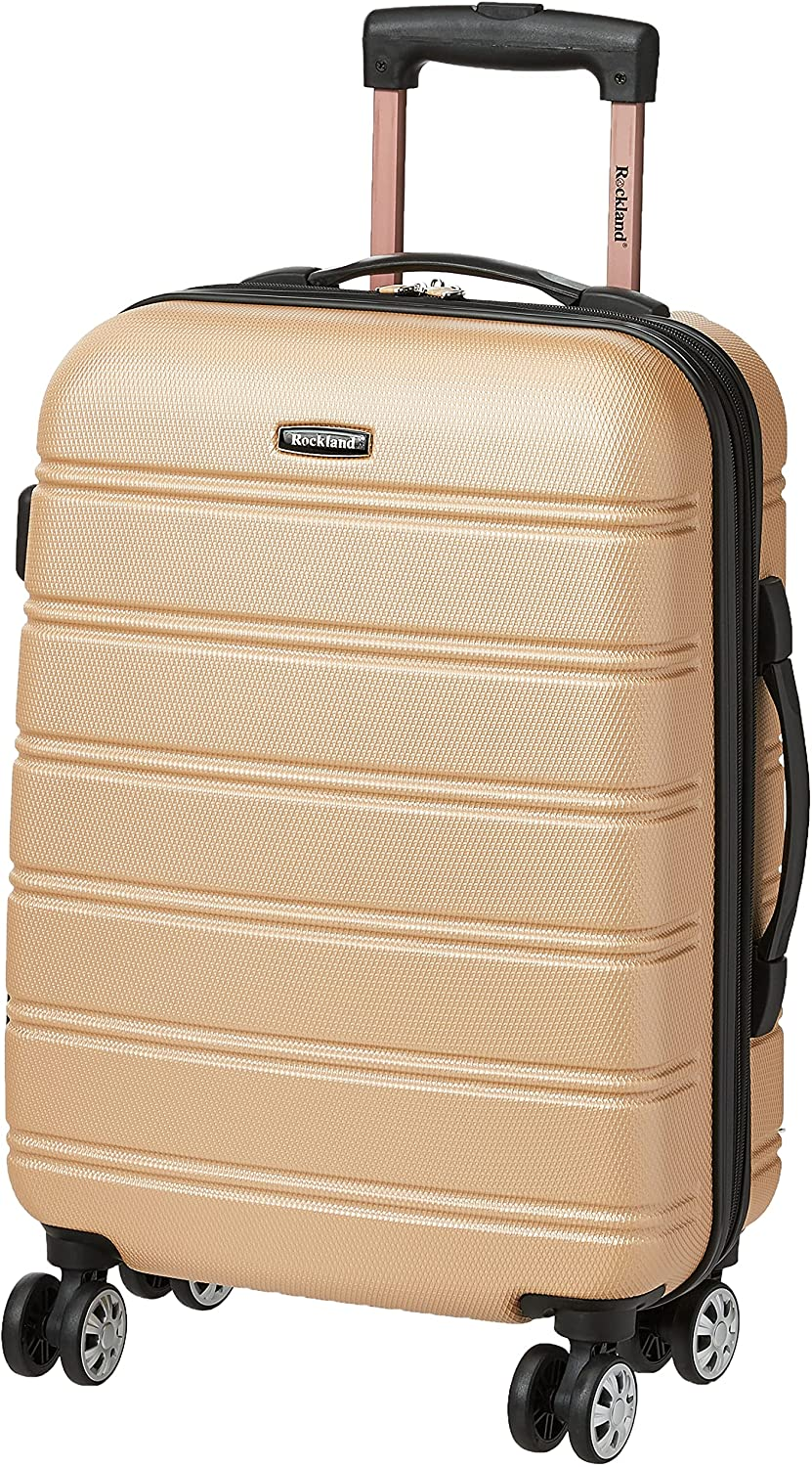 Rockland Melbourne Expandable Carry-On Luggage