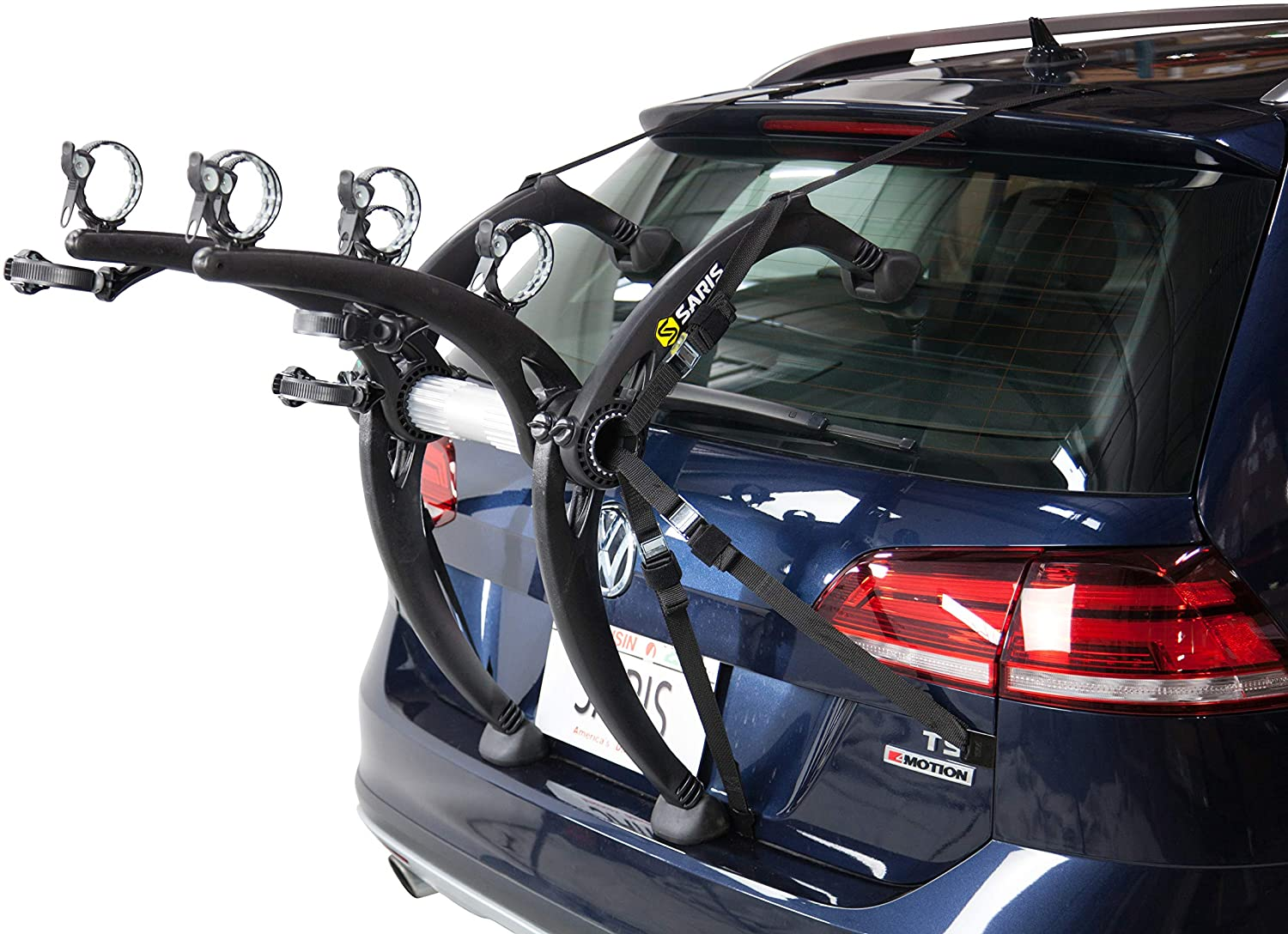 Saris Trunk Mount Bike Rack, 3-Bike