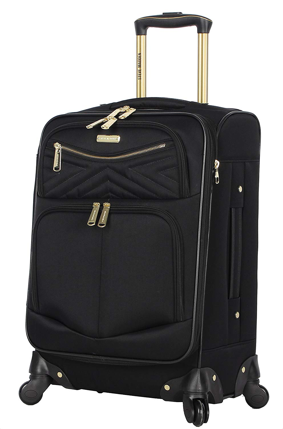 Steve Madden Softside Expandable Carry On, 20-Inch