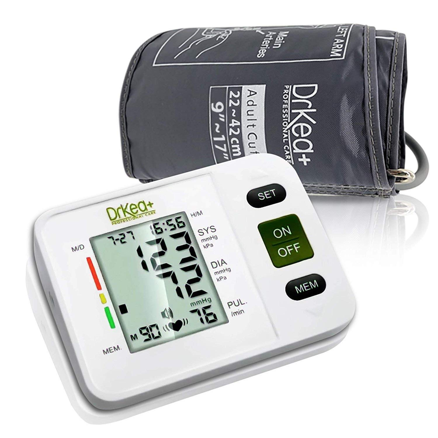 DrKea Fully Automatic Blood Pressure Machine Kit