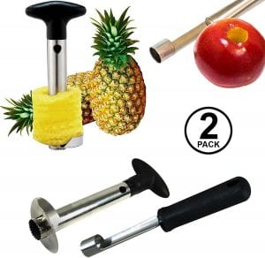Tablesto 3-In-1 Pineapple & Apple Corer Tool