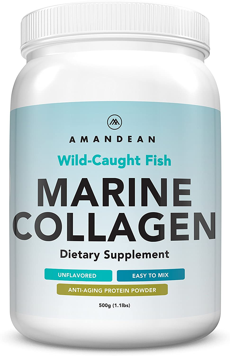 AMANDEAN Paleo Anti-Aging Marine Collagen Protein Supplement