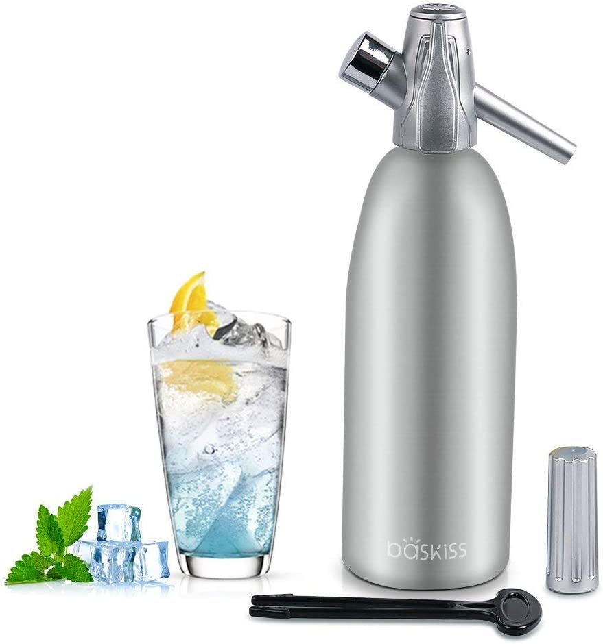 Baskiss Soda Siphon Maker