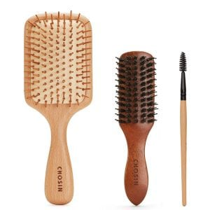 CHOSIN Natural Detangling Paddle Hairbrush