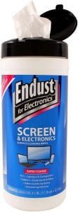 Endust LCD & Plasma Electronic Surface Cleaning Wipes, 70-Count