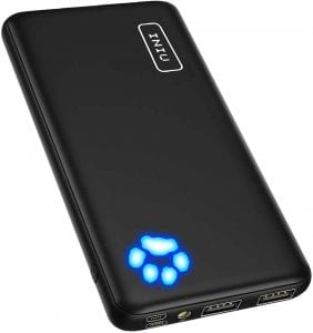 INIU 10000mAh Ultra Slim Power Bank Portable Charger