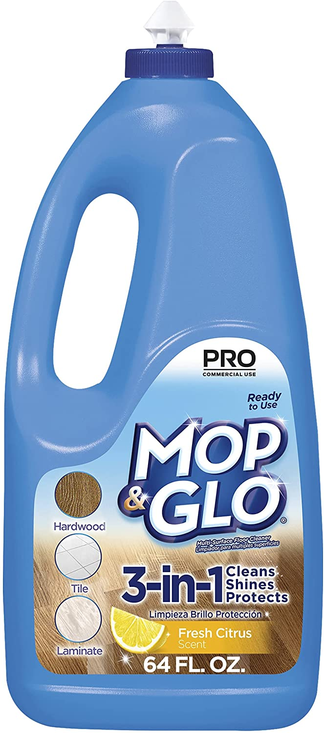 Mop & Glo Professional Multi-Surface Floor Cleaner Mopping Solution