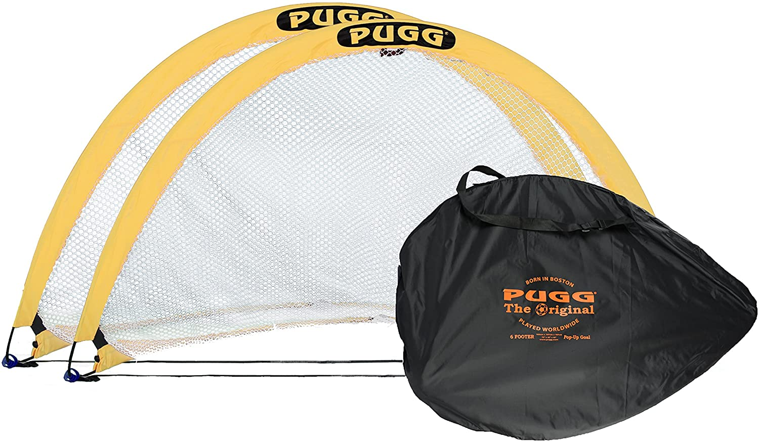 PUGG Portable Soccer Goal Set, 6-Foot