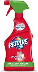 Resolve Multi-Fabric Cleaner & Upholstery Stain Remover