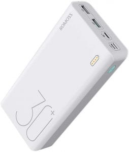 ROMOSS 30000mAh Power Bank Sense 8+ Power Bank