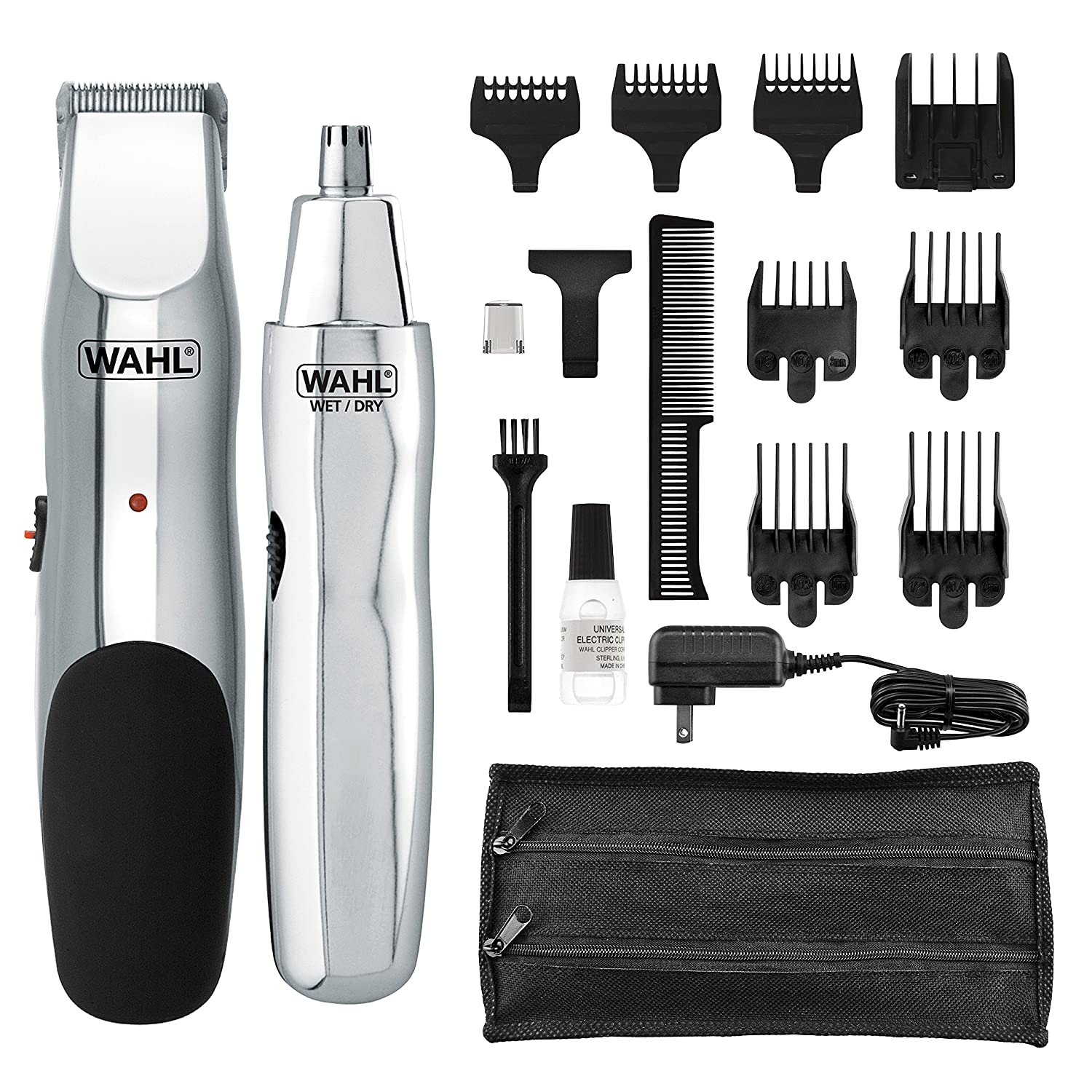 Wahl 5622 Groomsman Rechargeable Electric Razor