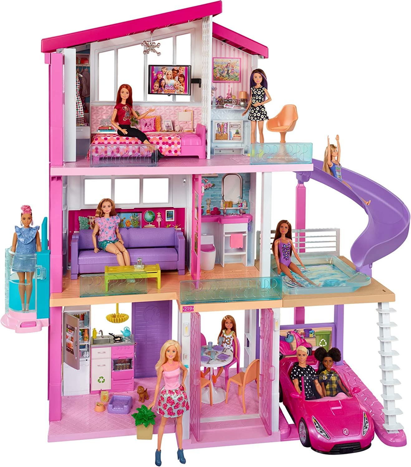 ​Barbie Ultimate Dreamhouse Dollhouse