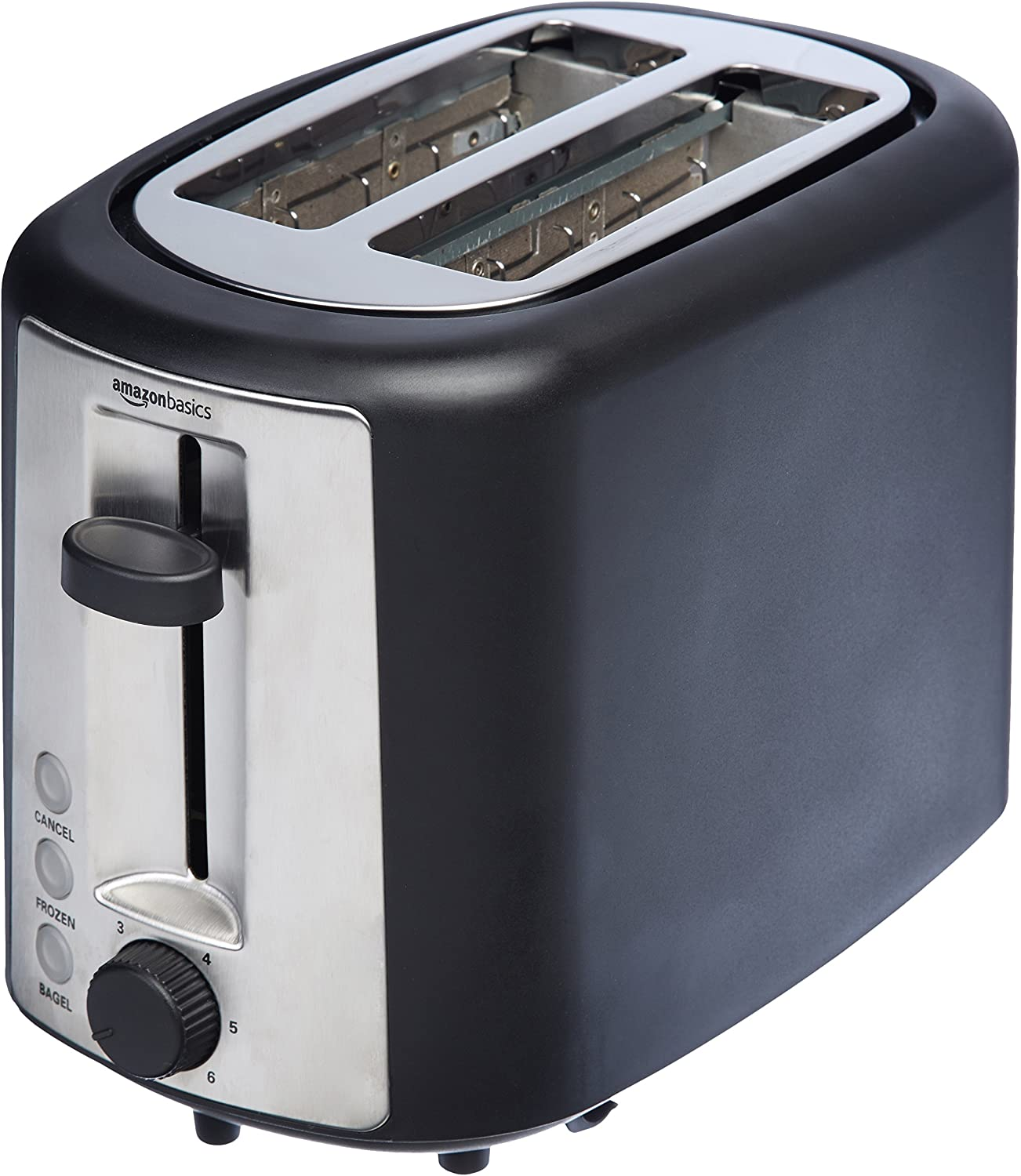 AmazonBasics 2-Slice Extra-Wide Slot Toaster