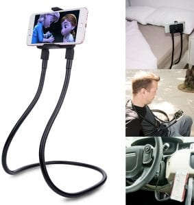 B-Land Universal Flexible Mount Stand & Multiple Function Cellphone Holder