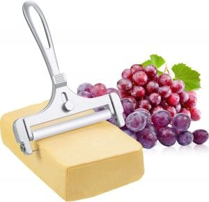 Boao Adjustable Thickness Stainless Steel Wire Cheese Slicer