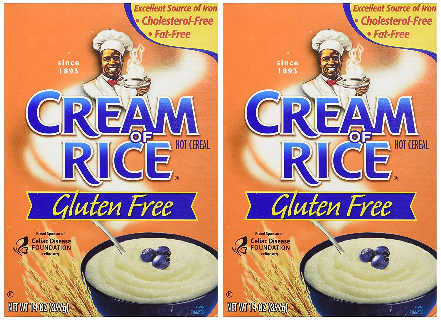 Cream of Rice Gluten-Free Hot Cereal, 2-Pack